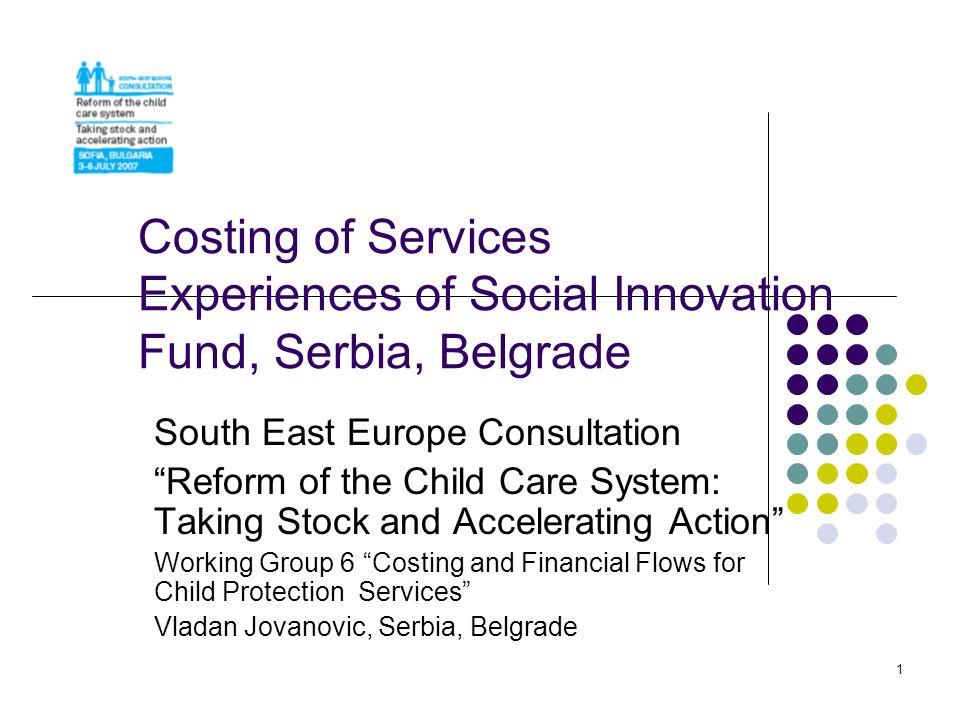 2 Social Welfare System Reform and Social Innovation Fund - Basic Information -