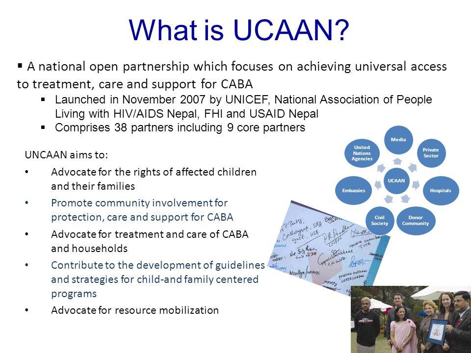 What is UCAAN.