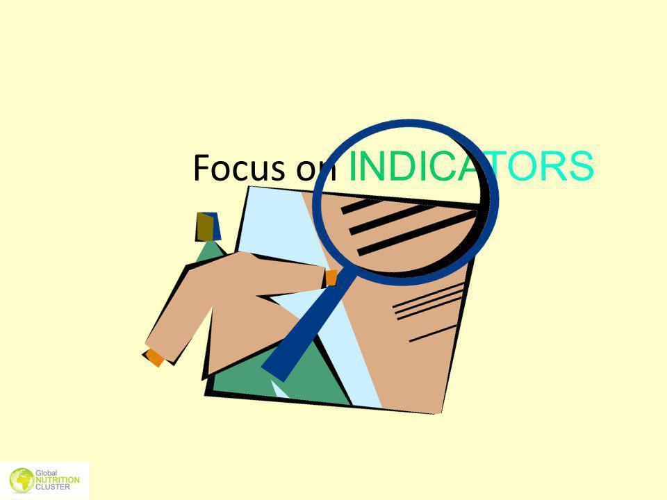 Focus on INDICATORS