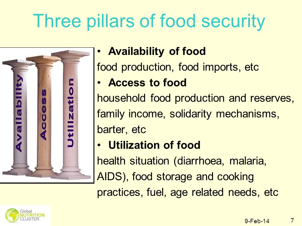 9-Feb-14 28 Steps in Food Security Assessment and Reporting
