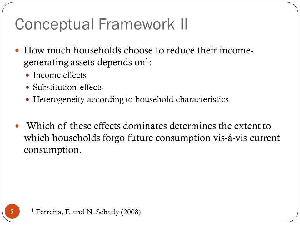 Final Remarks 16 Economic downturns have significant impacts in long-term households well-being.