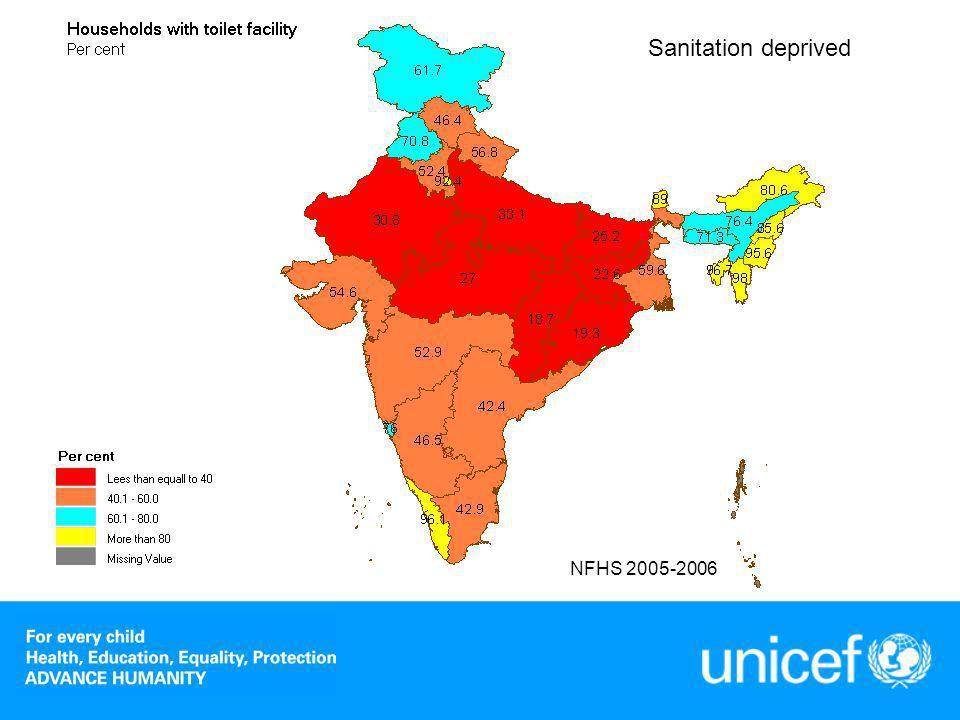Nutrition deprived NFHS 2005-2006
