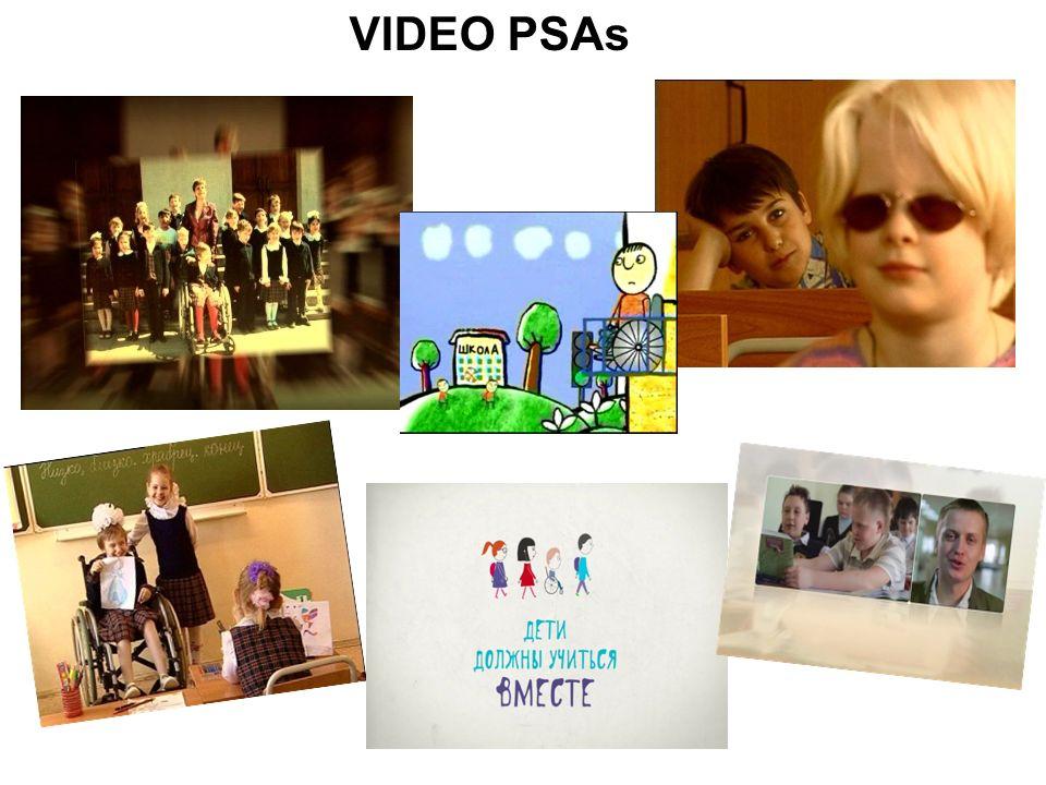 VIDEO PSAs