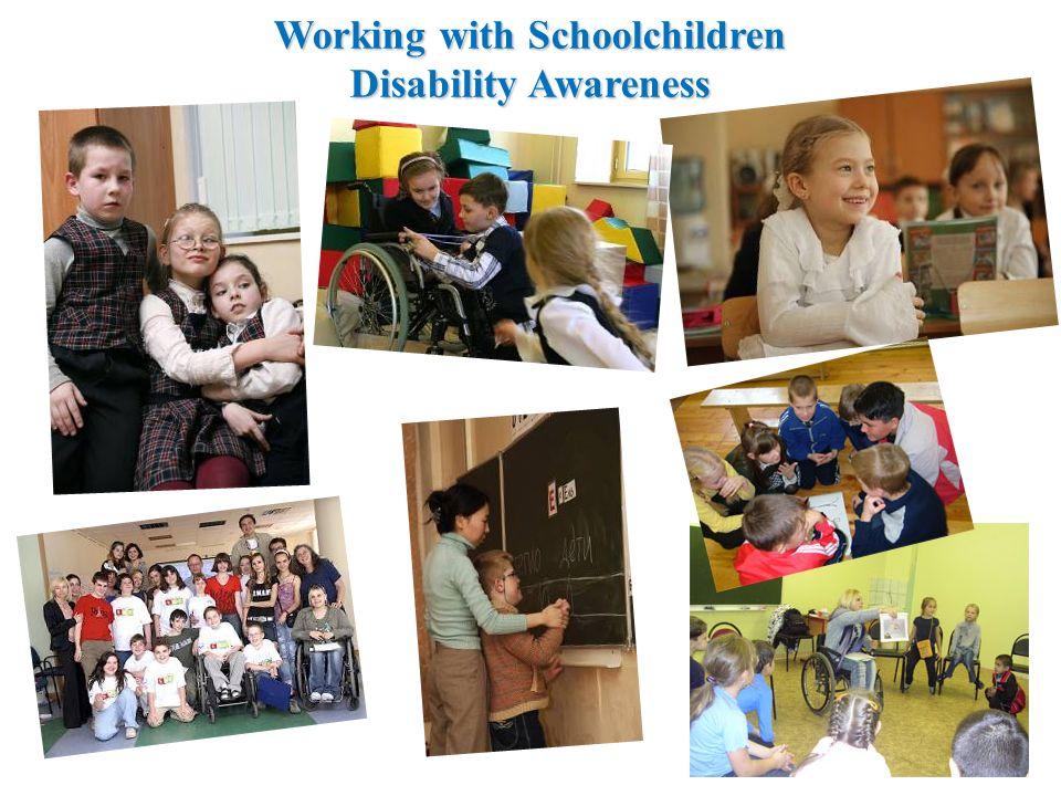 Working with Schoolchildren Disability Awareness