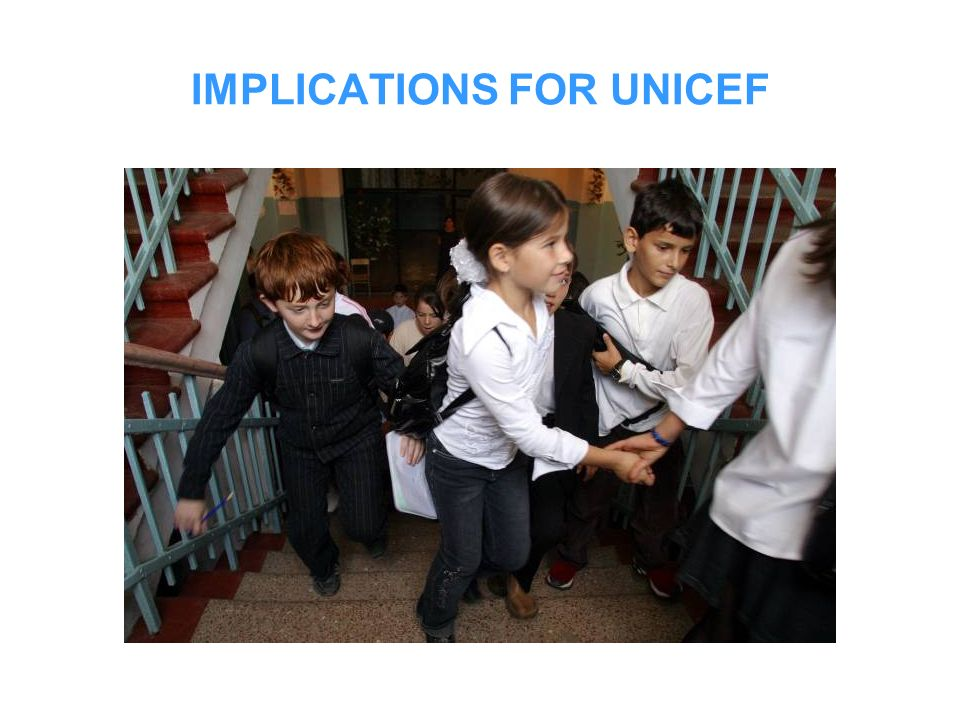 IMPLICATIONS FOR UNICEF