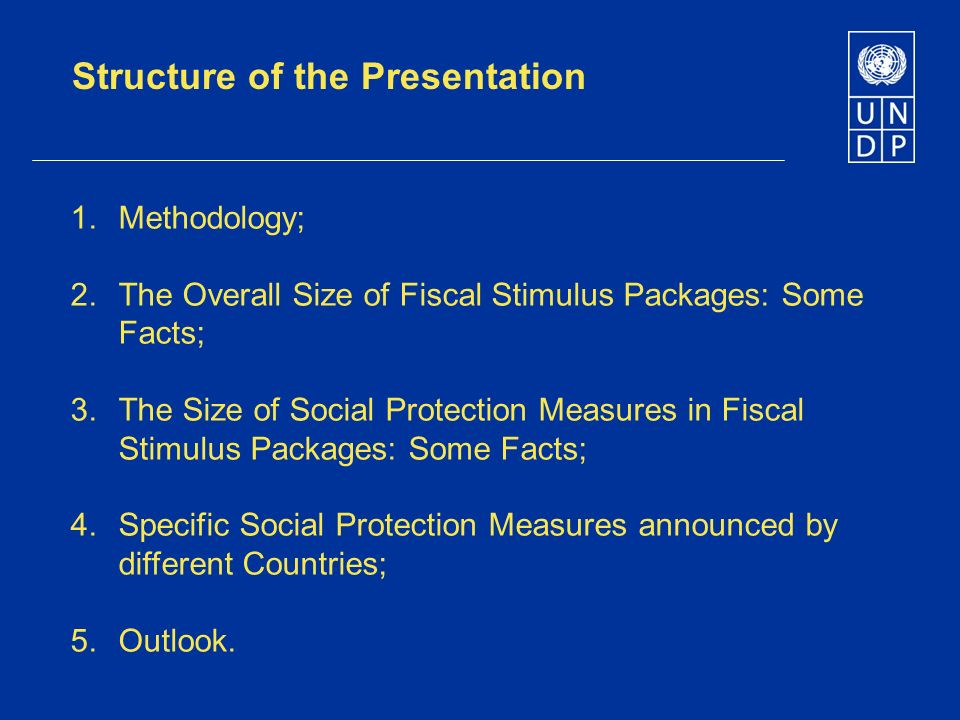 Structure of the Presentation 1. Methodology; 2.