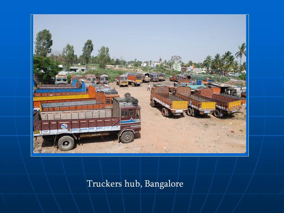 Truckers hub, Bangalore