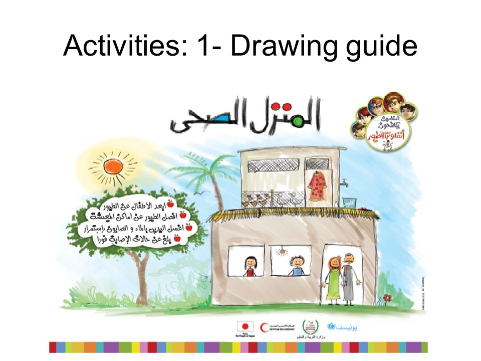 Activities: 1- Drawing guide