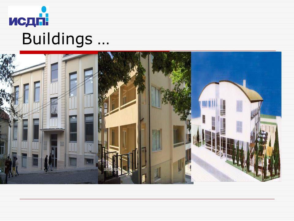 Buildings …