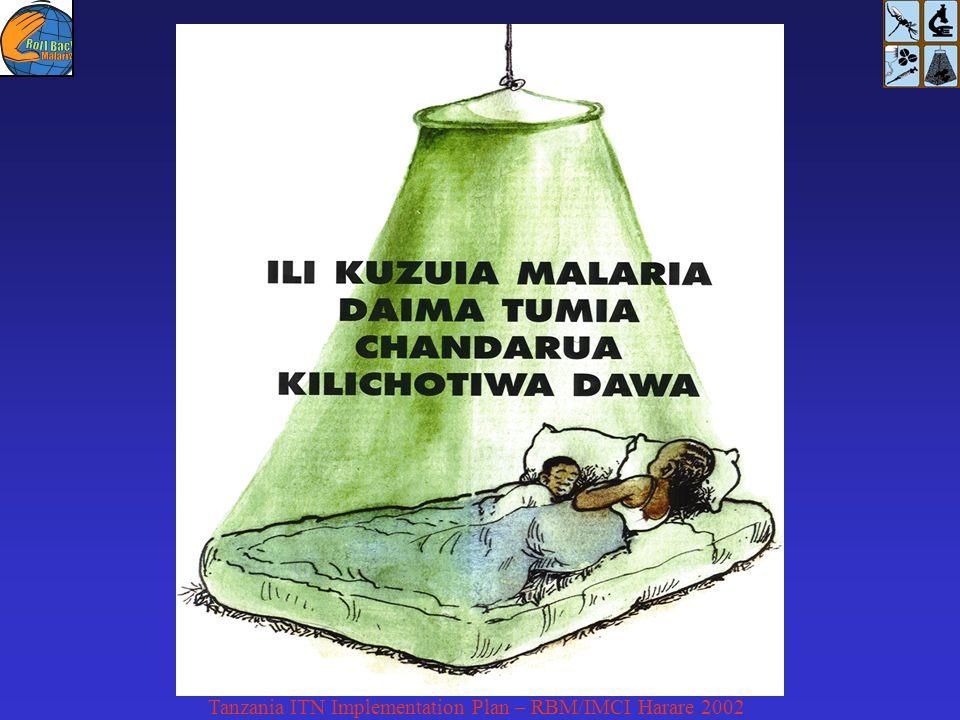 Tanzania ITN Implementation Plan – RBM/IMCI Harare 2002