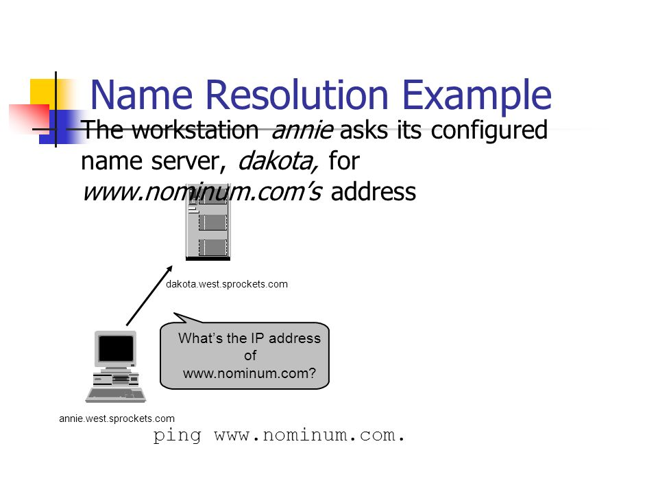 Whats the IP address of www.nominum.com.