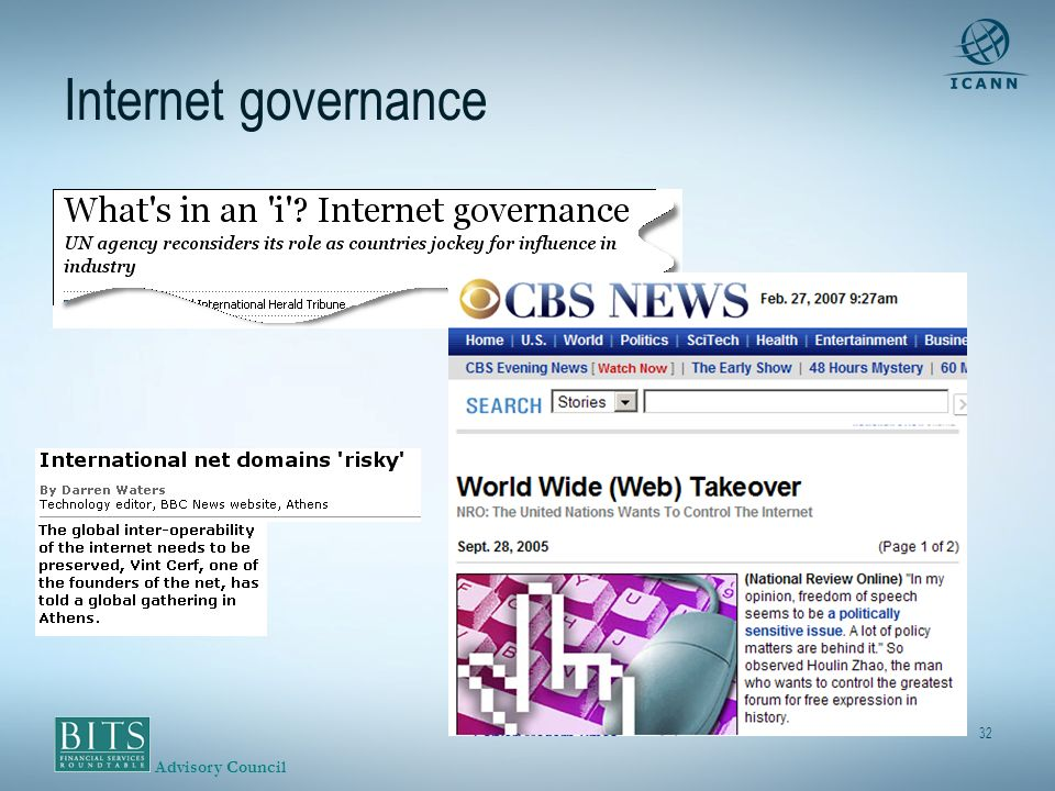 Advisory Council 32 Internet governance
