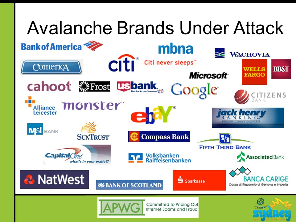 Avalanche Brands Under Attack