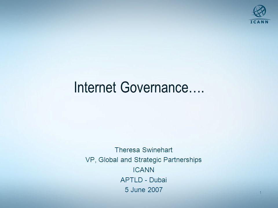1 Internet Governance….
