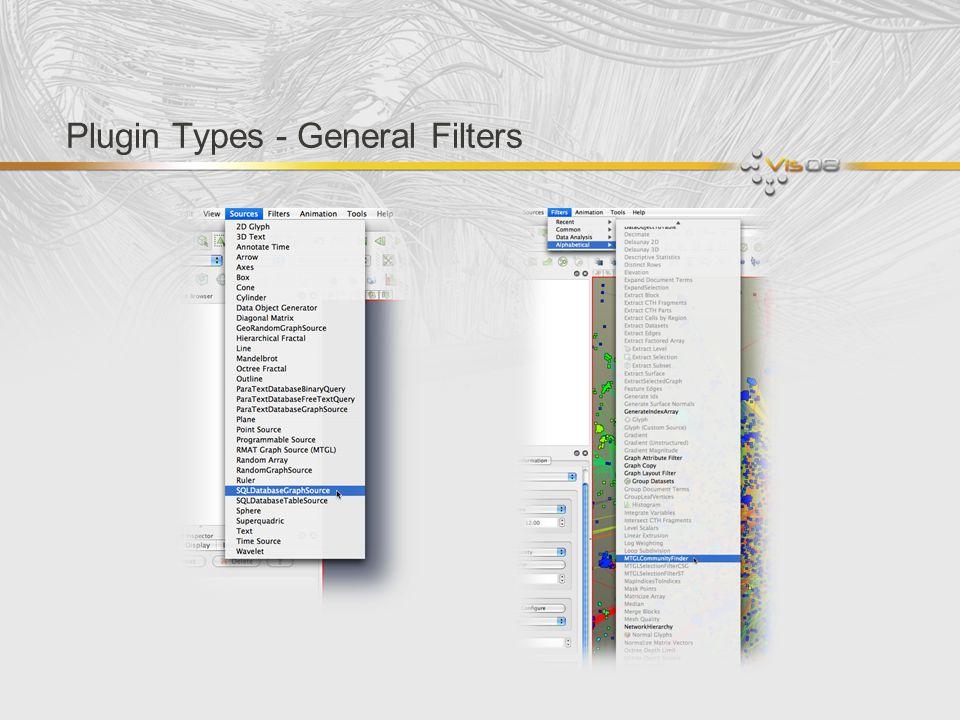Plugin Types - General Filters