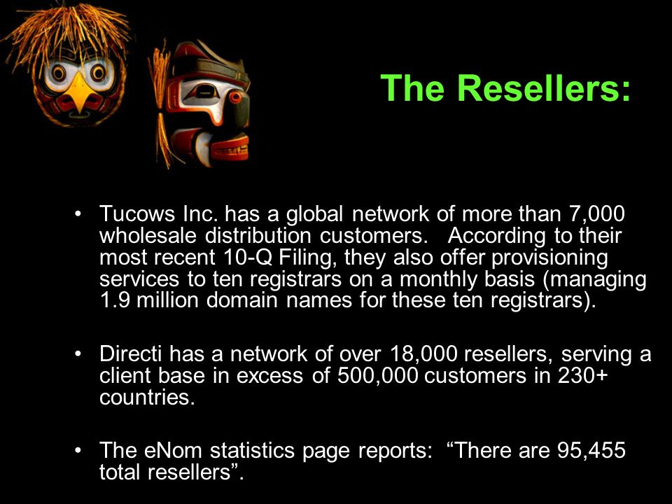 The Resellers: Tucows Inc.