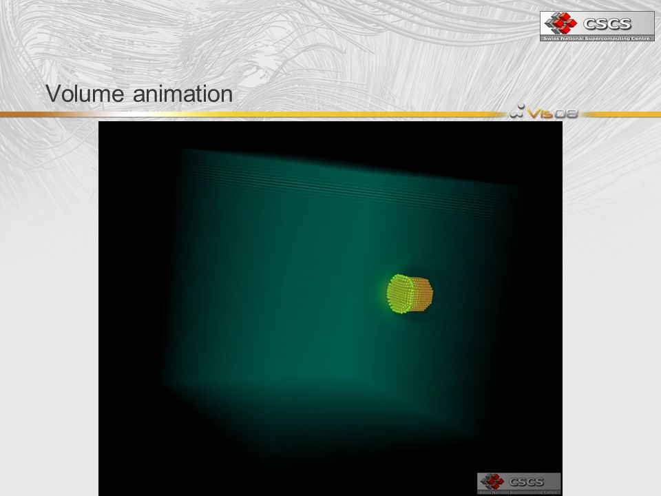 Volume animation