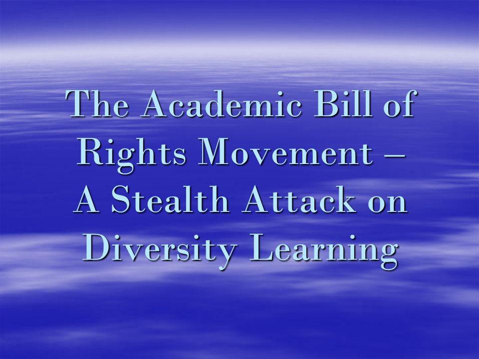 Proponents - David Horowitz David Horowitz Students for Academic Freedom Students for Academic Freedom