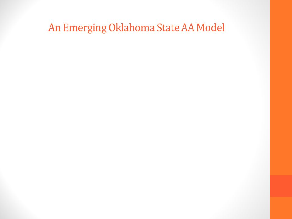 An Emerging Oklahoma State AA Model