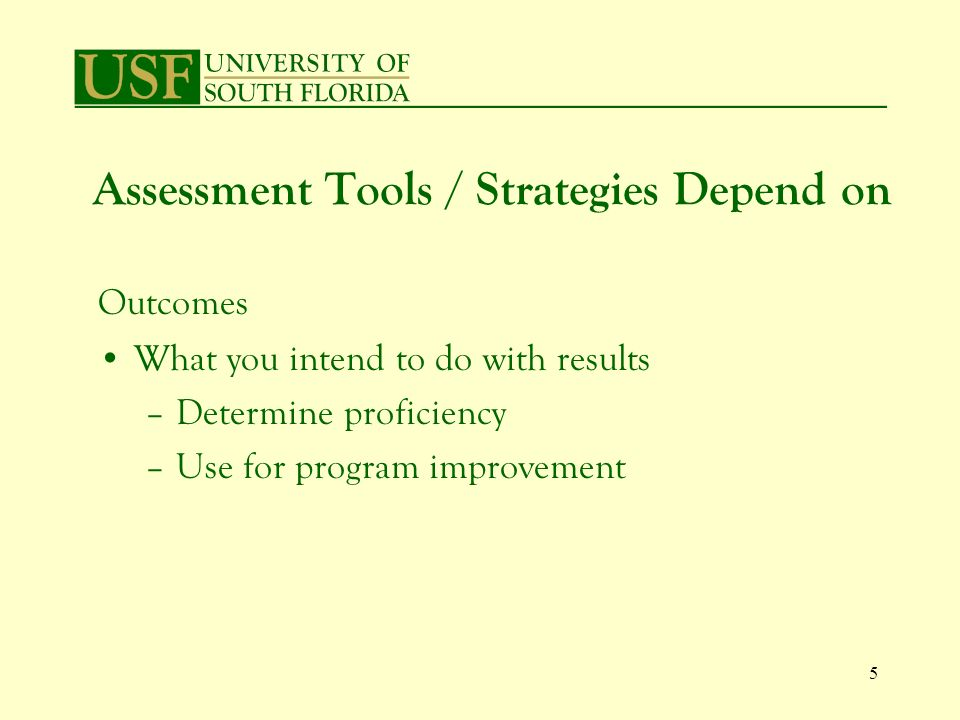 6 Evaluating Writing Assessment Process Initially assessed writing with a holistic method Realized writing was weaker than desired But – impossible to determine specific areas of weakness