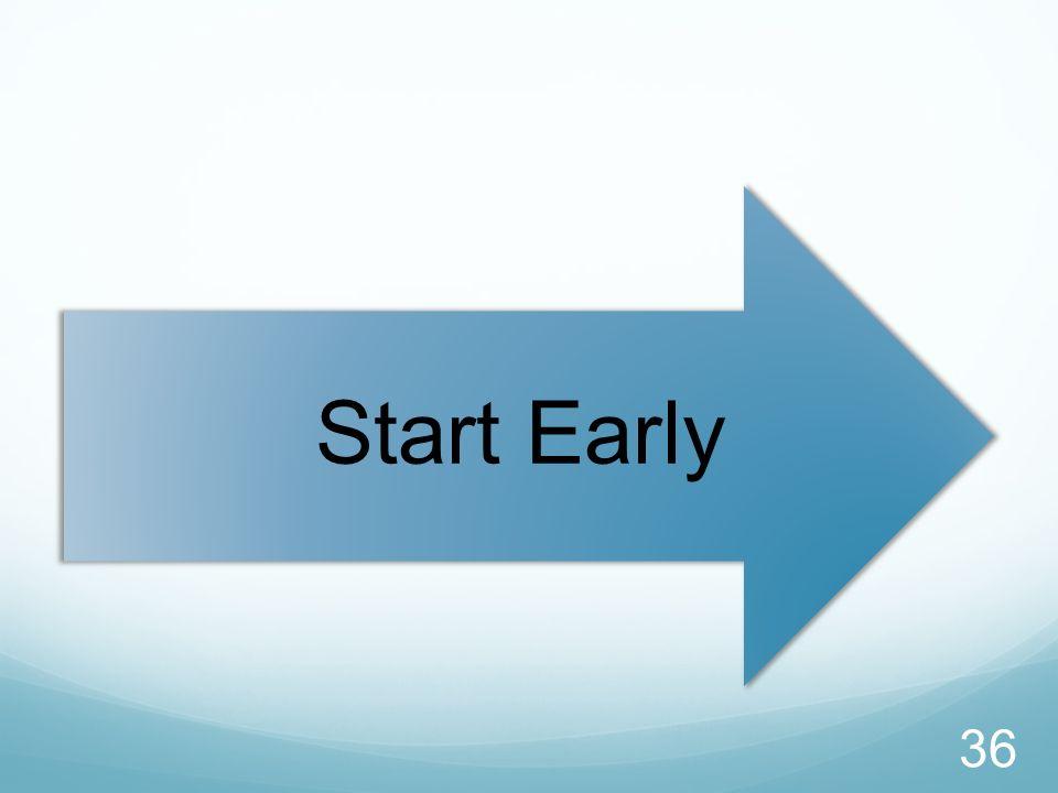 Start Early 36