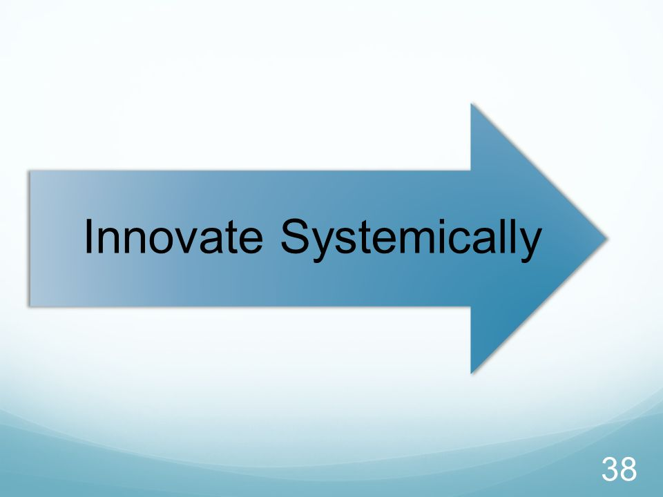 Innovate Systemically 38