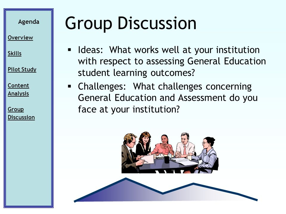 Ideas: What works well at your institution with respect to assessing General Education student learning outcomes.