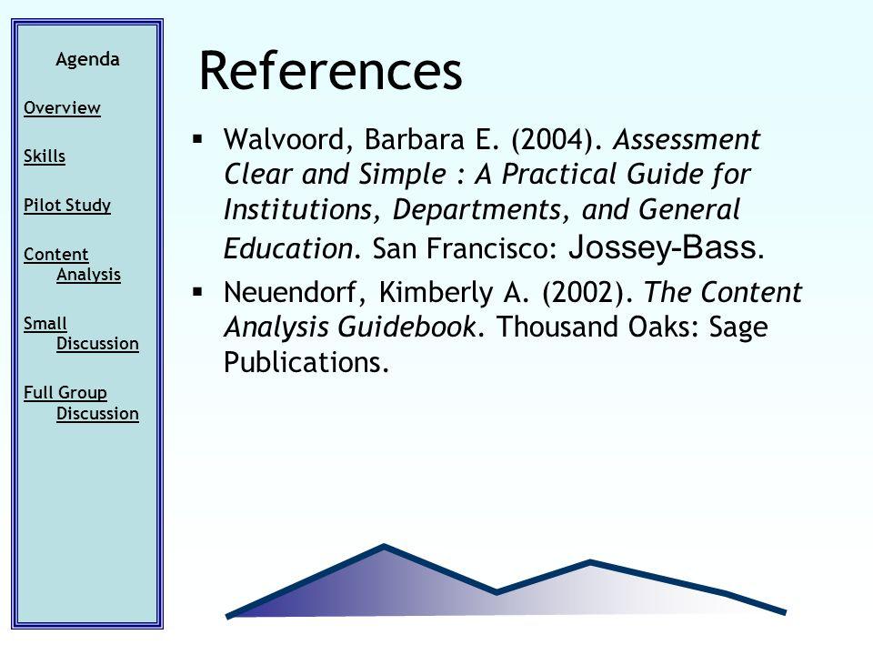 Walvoord, Barbara E. (2004).