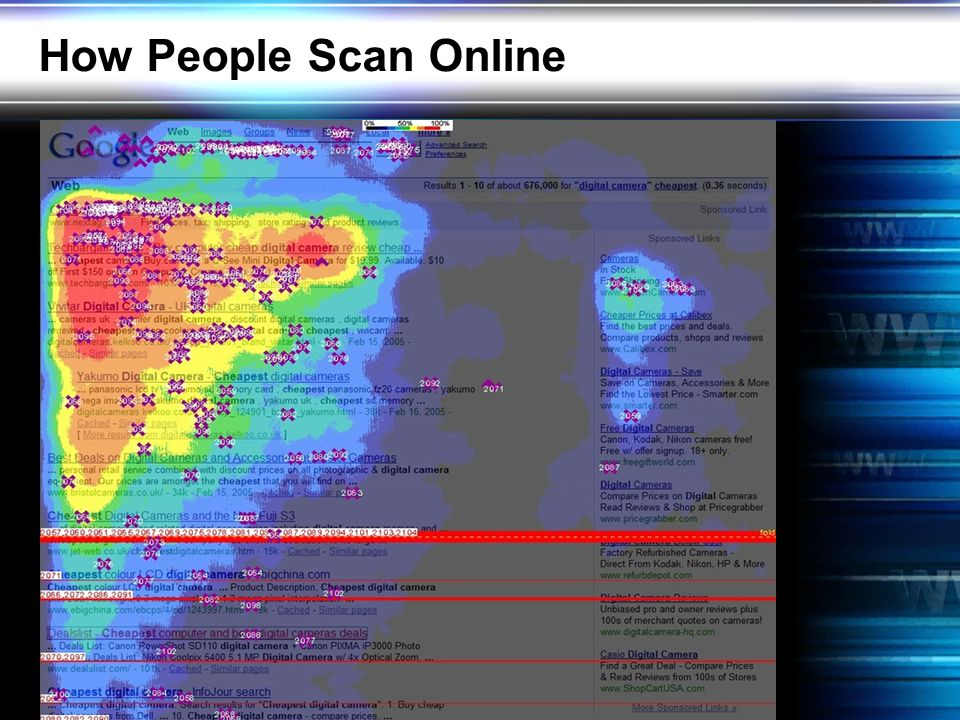 How People Scan Online