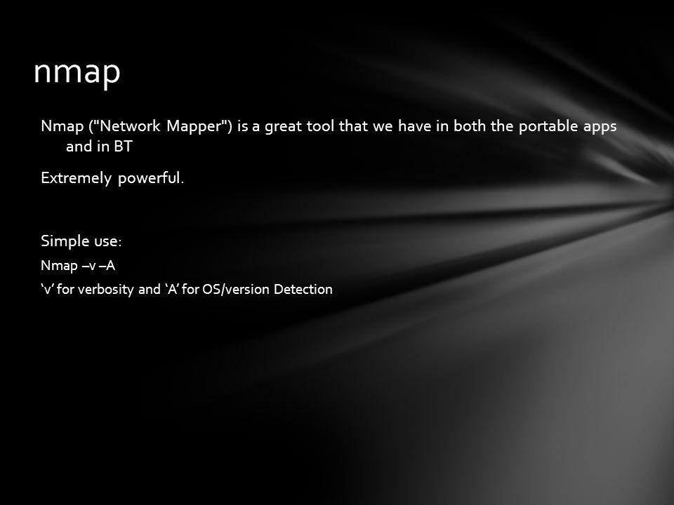 Nmap (