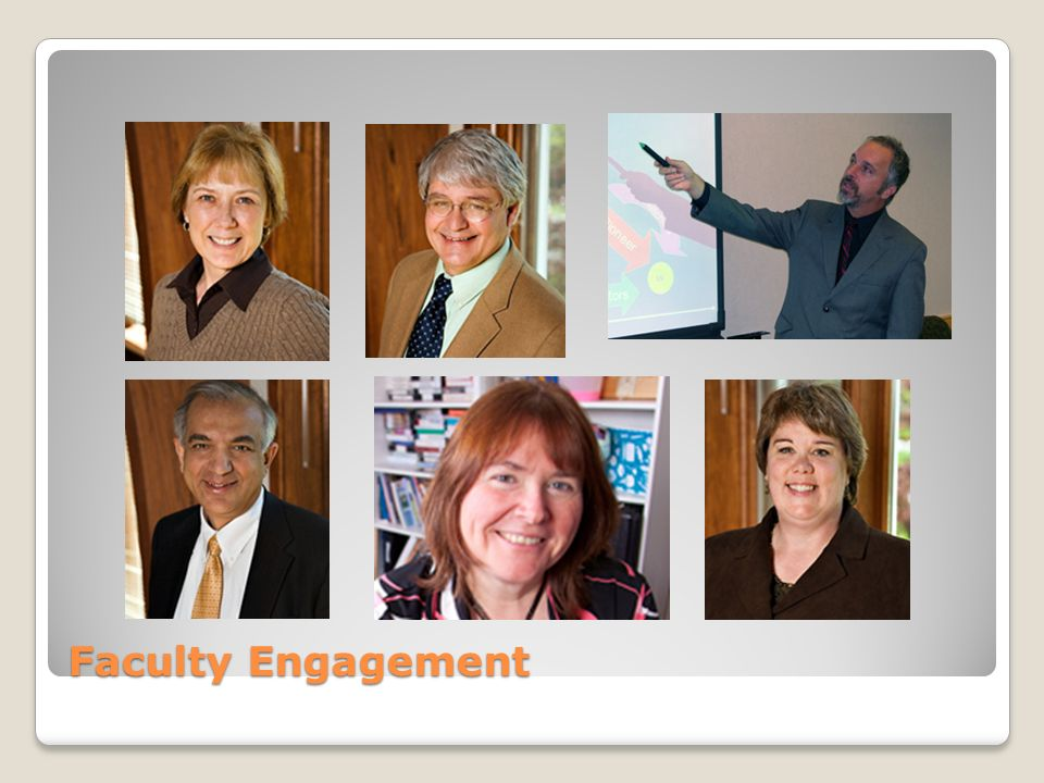 Faculty Engagement