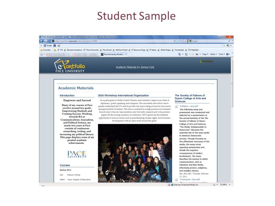 Student Sample