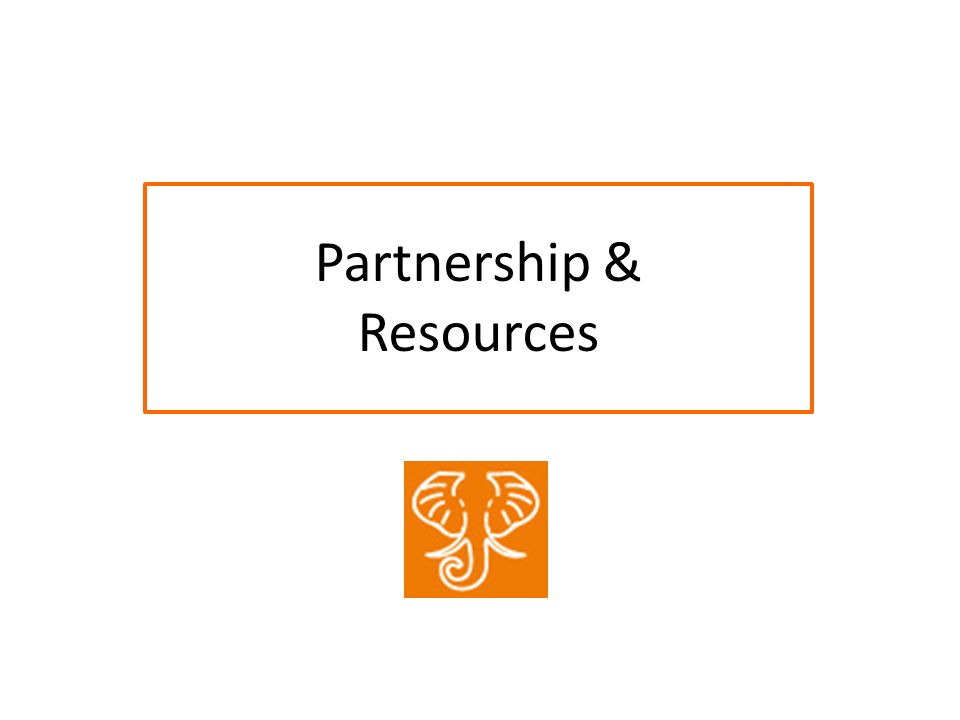Partnership & Resources