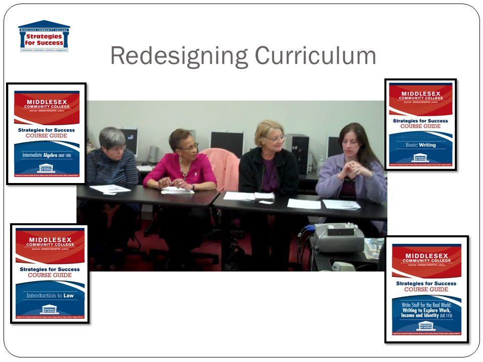 Redesigning Curriculum