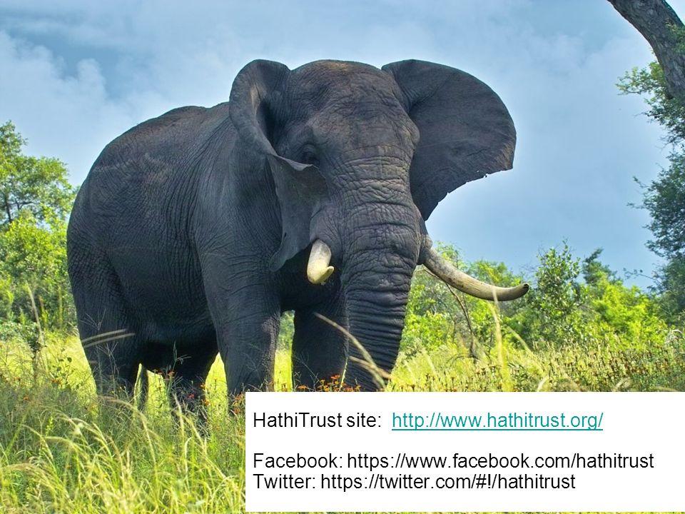 HathiTrust site: http://www.hathitrust.org/ Facebook: https://www.facebook.com/hathitrust Twitter: https://twitter.com/#!/hathitrusthttp://www.hathitrust.org/