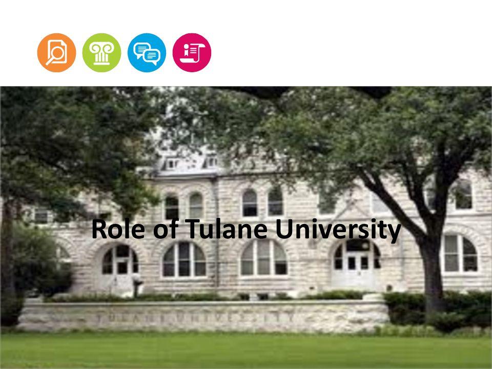 Role of Tulane University
