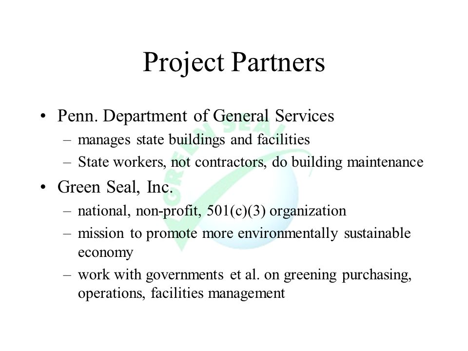 Project Partners Penn.