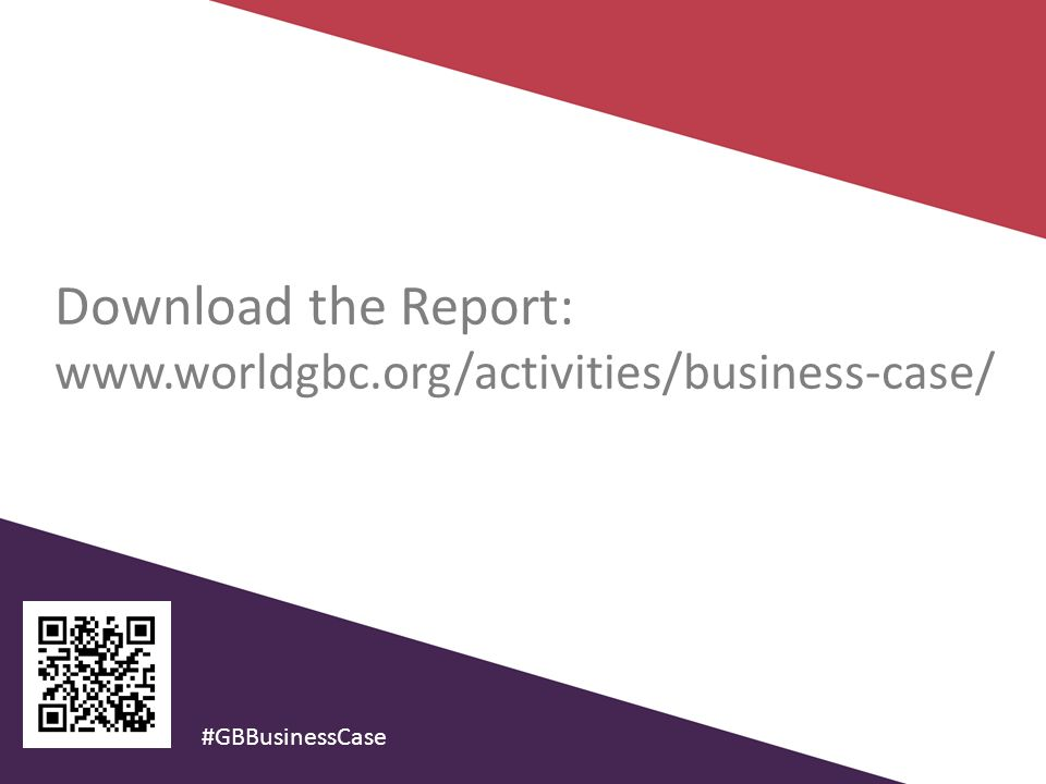 Download the Report:   #GBBusinessCase