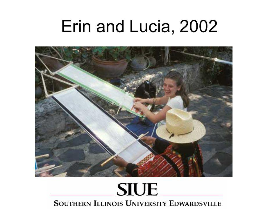 Erin and Lucia, 2002