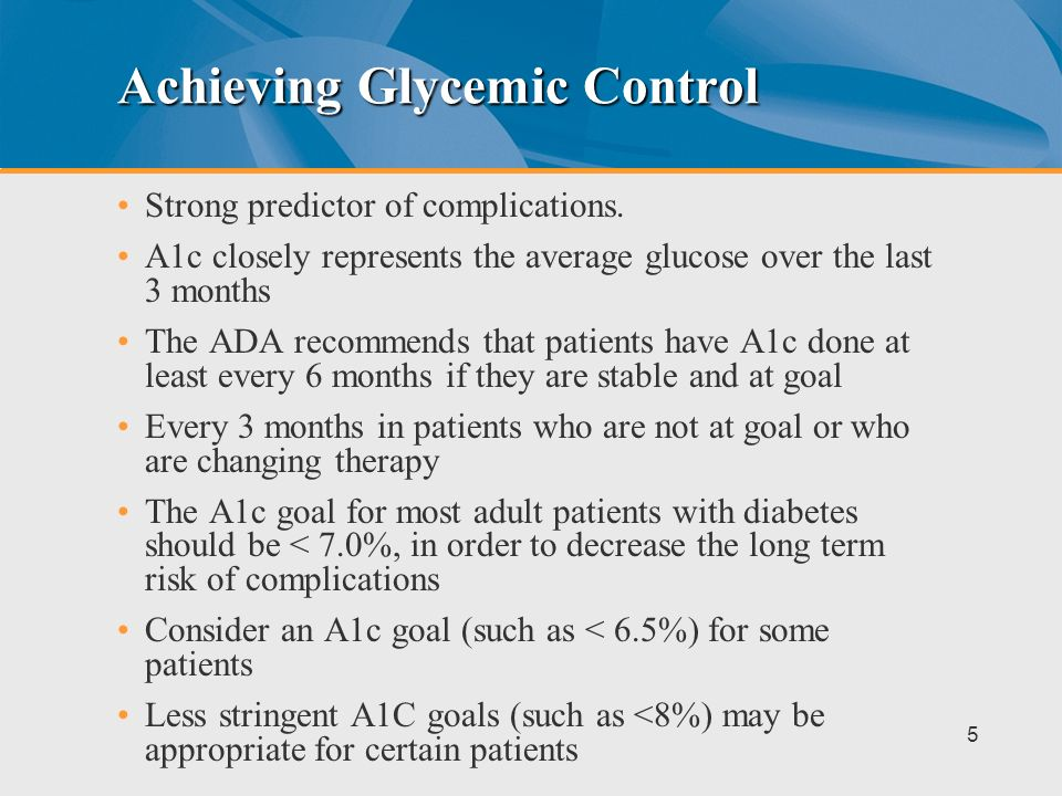 Reducing Cardiovascular Complications of Diabetes In addition to the ABCs a number of other measures are important Quit smoking Aspirin (81 to 100 mg