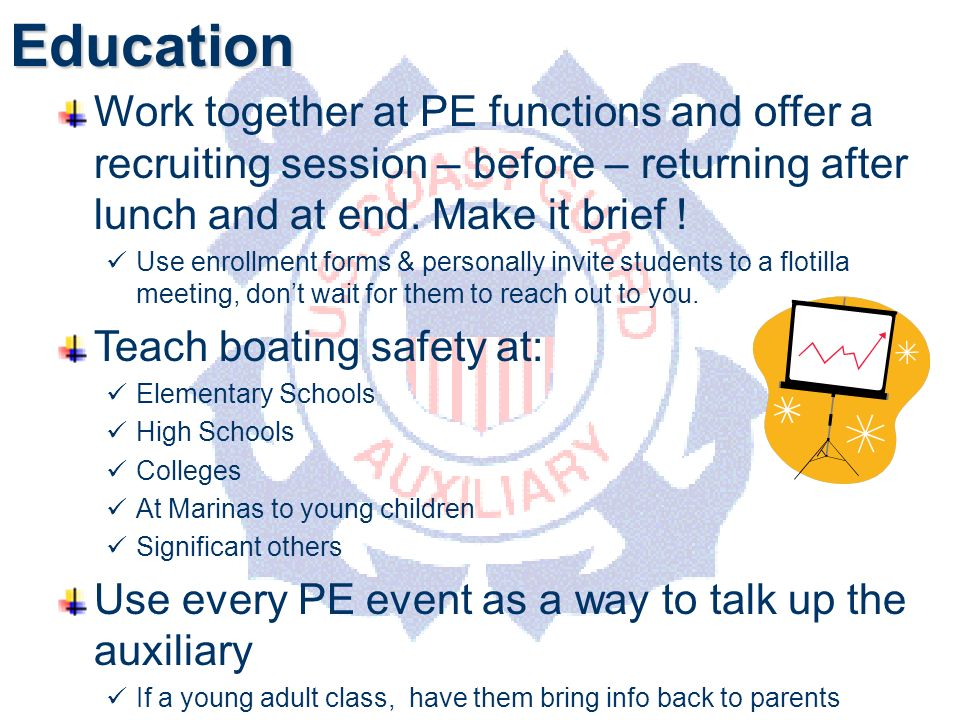 DEPARTMENT OF PERSONNELEducation Work together at PE functions and offer a recruiting session – before – returning after lunch and at end.