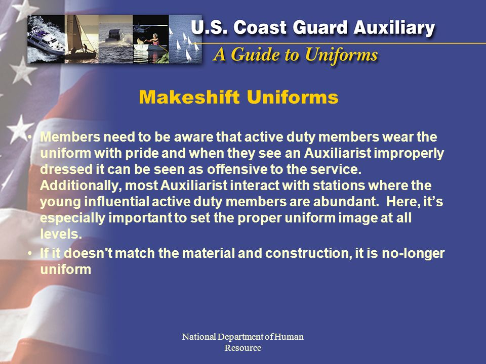 If one cannot afford the cost of a proper uniform do not to spend the money on creating a look alike.