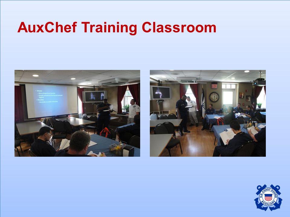 AuxChef Training Classroom