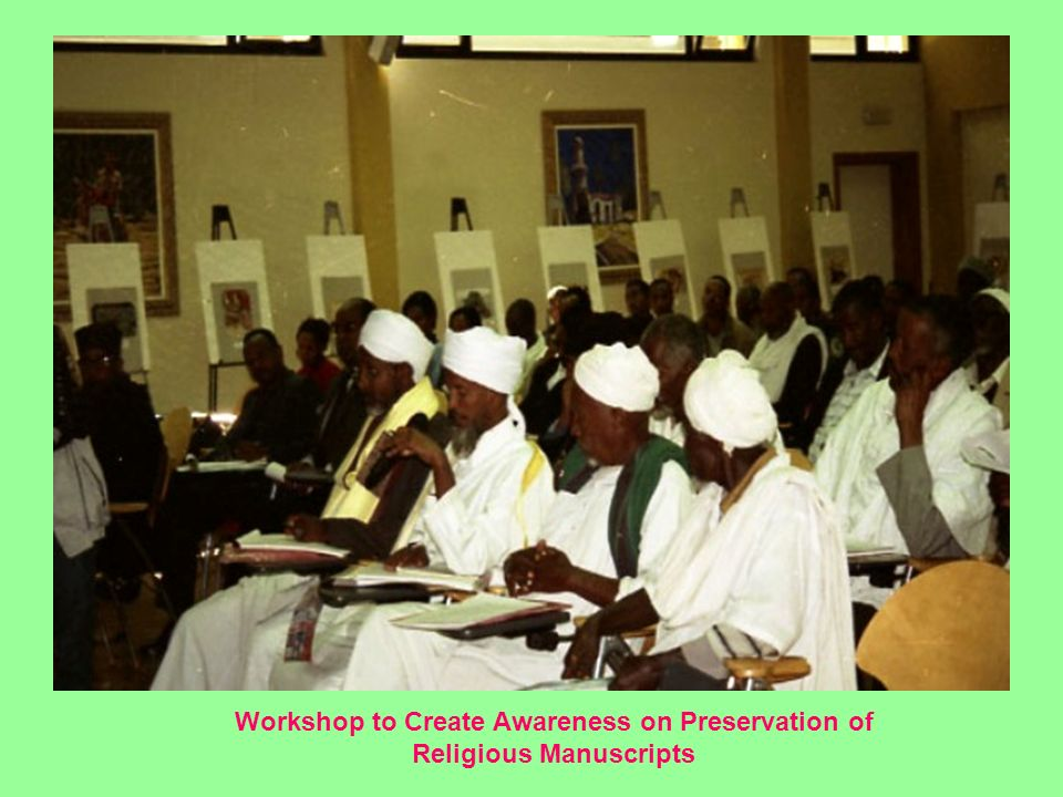 Workshop to Create Awareness on Preservation of Religious Manuscripts