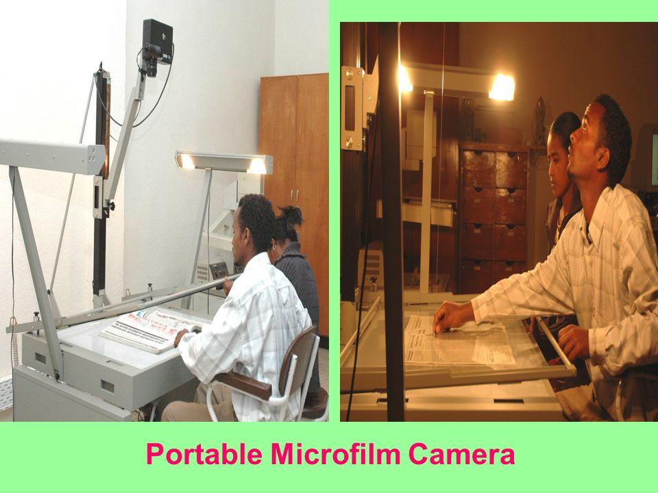 Portable Microfilm Camera