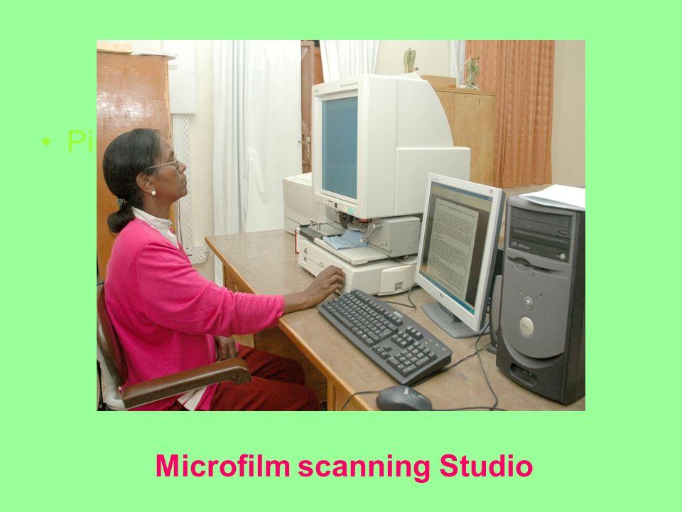Picture Abeba Microfilm scanning Studio