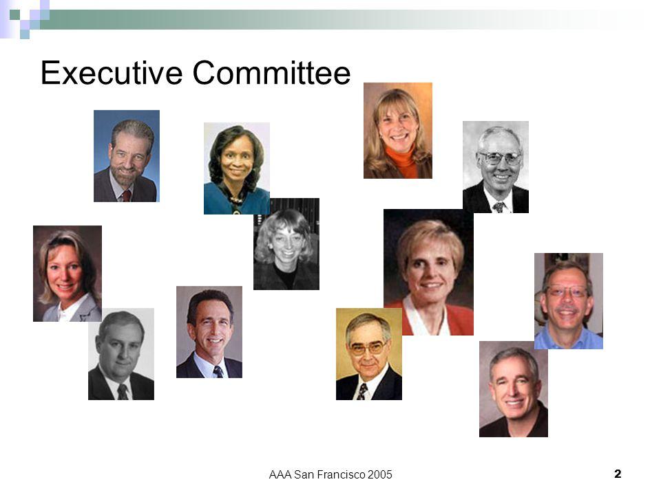 AAA San Francisco 20052 Executive Committee