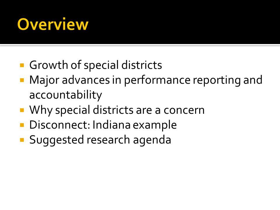 US Census Bureau criteria Exist as organized entity Governmental character Substantial autonomy Plus 7 disqualifiers