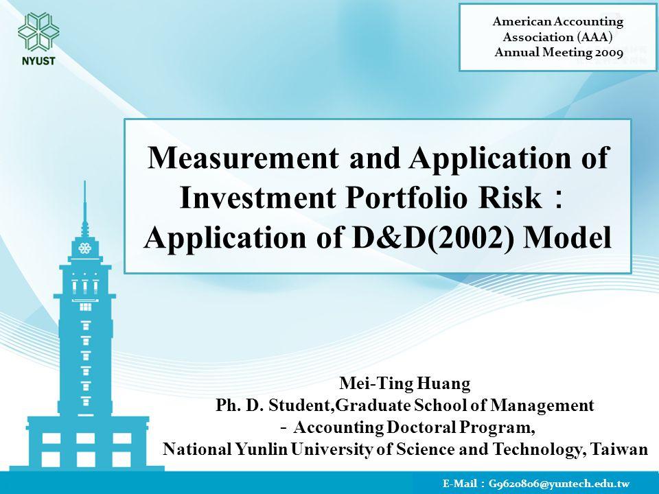 Mei-Ting Huang Ph. D.