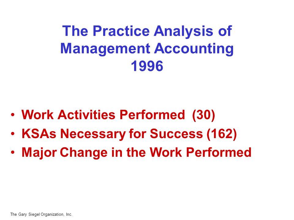 The Gary Siegel Organization, Inc.